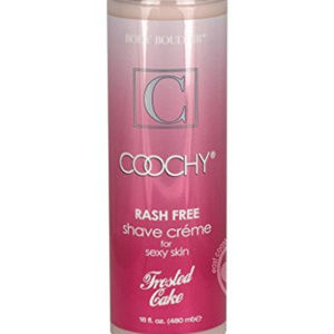 16 oz Coochy RashFree Shave Cream NEW Frosted Cake